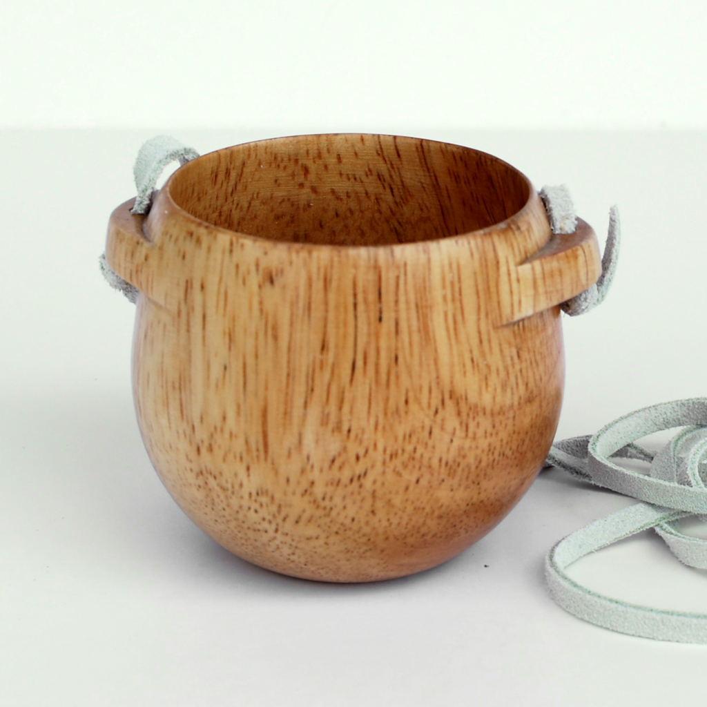 Eagle products Holz Becher mit Band
